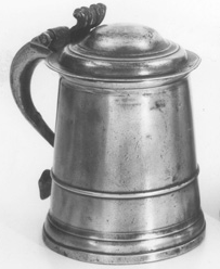 Tankard, as used in Australia's first pubs?