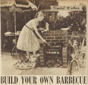 Barbecue feature, Australian Women's Weekly