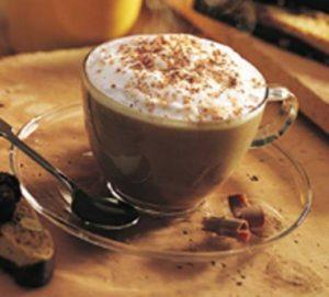 The Aram for cappucino