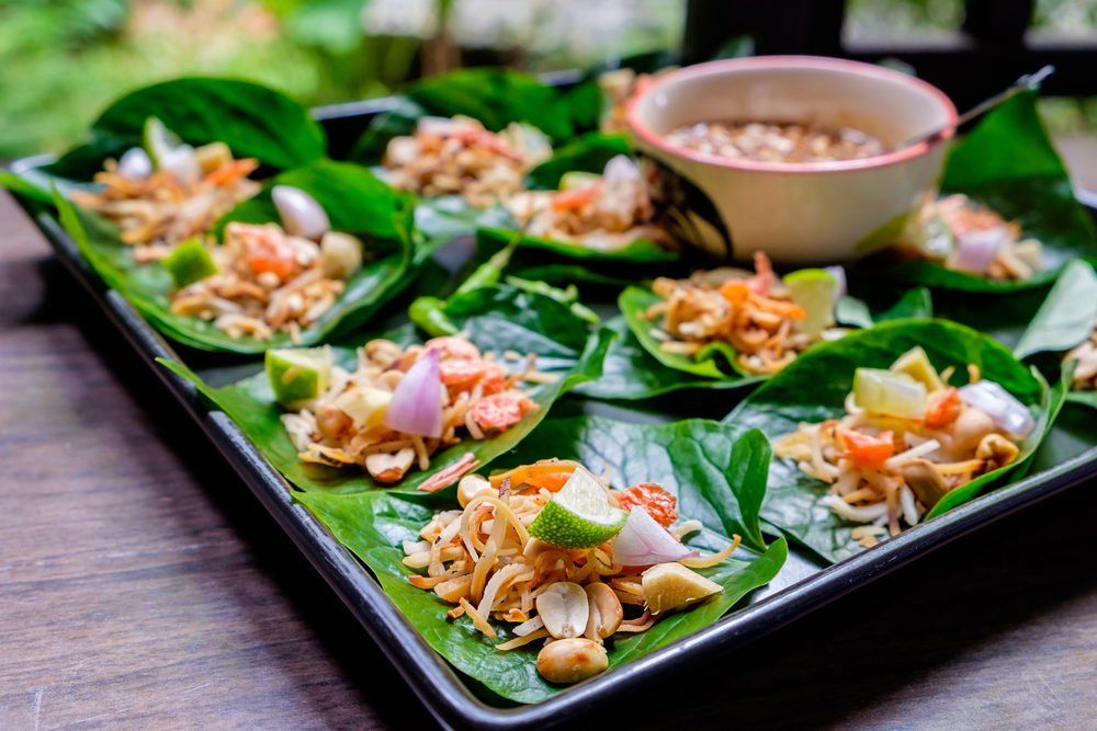 Thai restaurant food